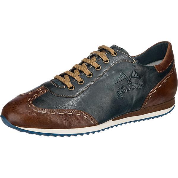 Galizio Torresi Galizio Torresi Freizeit Schuhe extraweit blau-kombi