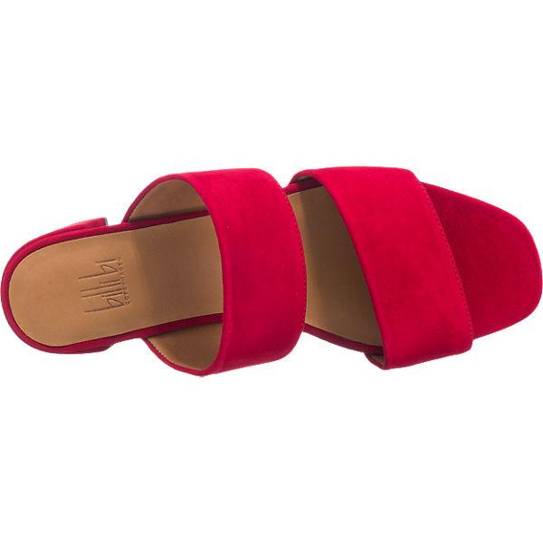 Billi bi, billi Qualität bi Pantoletten, rot Gute Qualität billi beliebte Schuhe c367b3