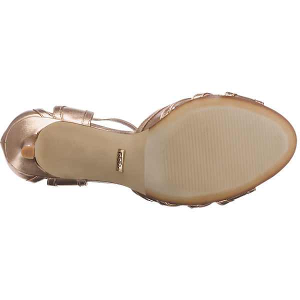 BUFFALO BUFFALO Sandaletten gold