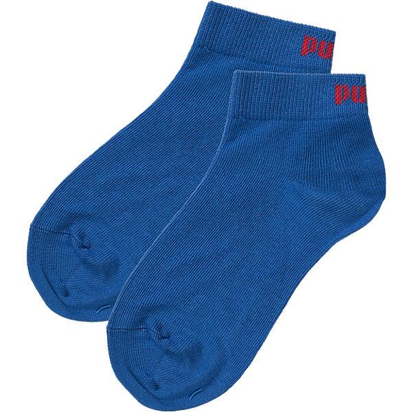 PUMA Socken 3-er Pack für Jungen blau/grau