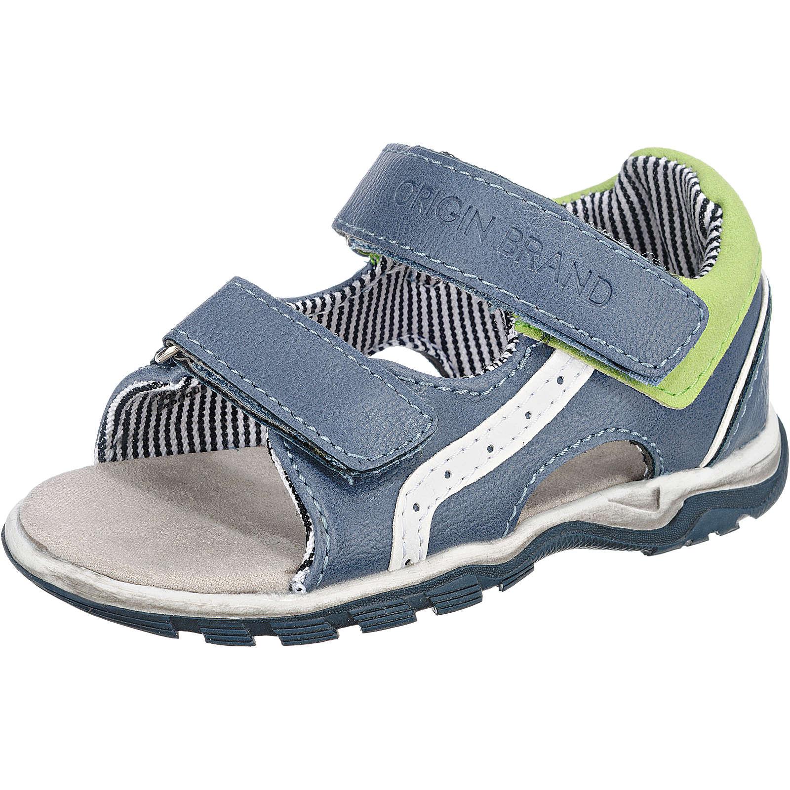 SPROX Sandalen für Jungen blau Junge Gr. 21