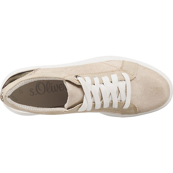s Oliver gold Oliver Sneakers s FfxgFZ