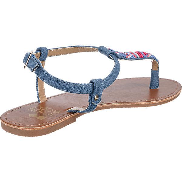 Odd Sandaletten Odd blau amp; amp; Even Even qv4pwS0xW