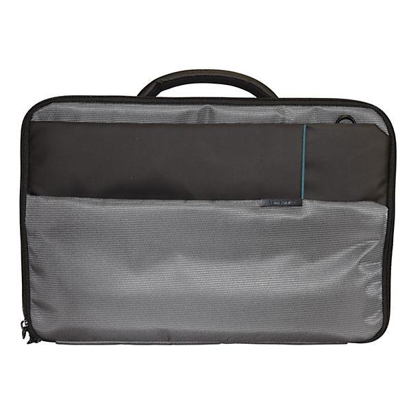 Samsonite 44 Cm Qibyte Businesstasche Grau Laptopfach iOTPXukZ