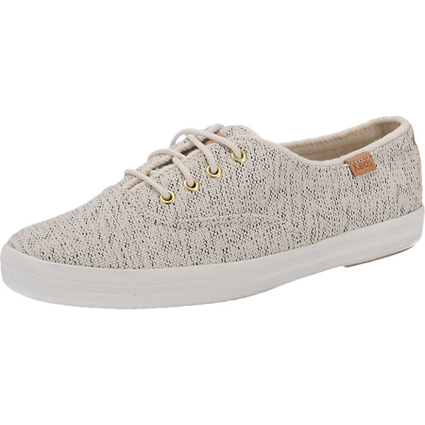 Keds Keds Champion Salt & Pepper Canvas Sneakers beige