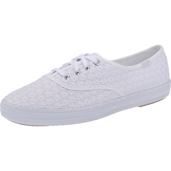 Keds Champion Mini Daisy Crochet Sneakers