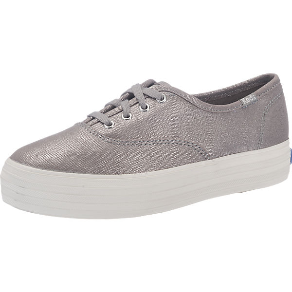 Keds Triple Metallic Canvas Sneakers