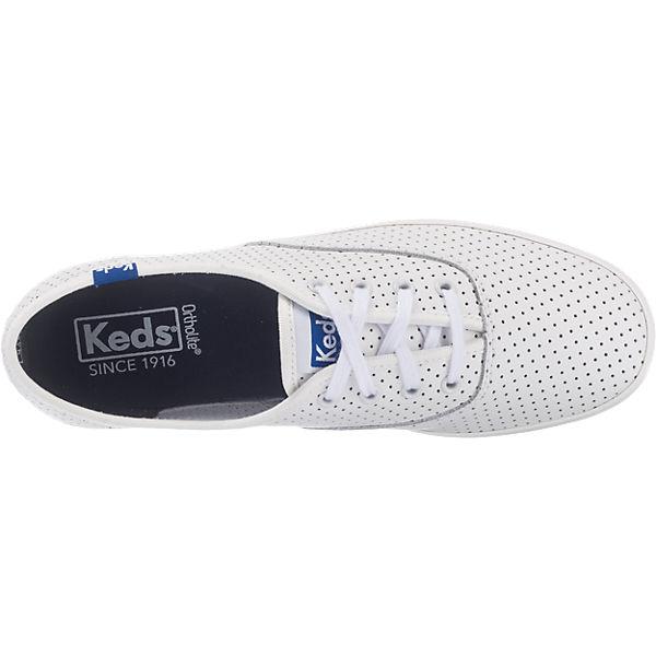 Keds Keds Champion Retro Perf. Lea Sneakers weiß-kombi