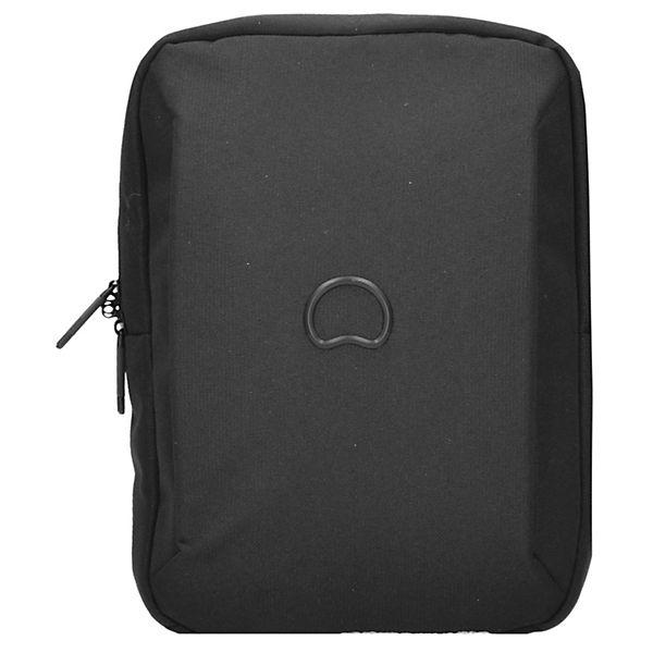 Delsey Delsey Mouvement Umhängetasche 40 cm Laptopfach schwarz
