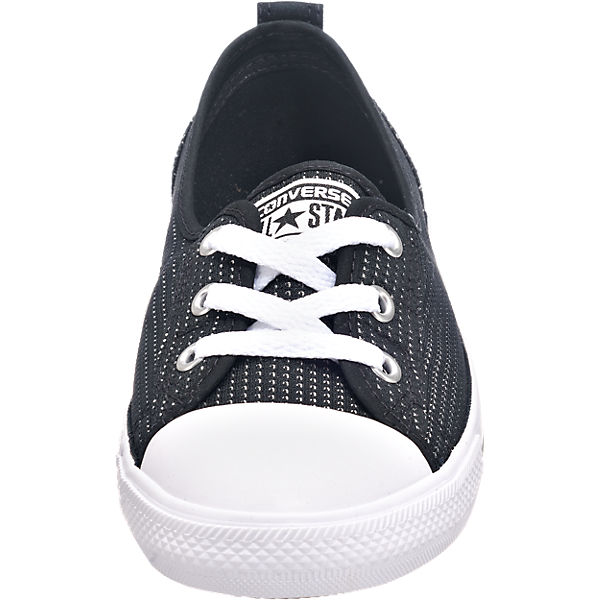 CONVERSE CONVERSE Chuck Taylor All Star Ballet Lace Slip Sneakers schwarz
