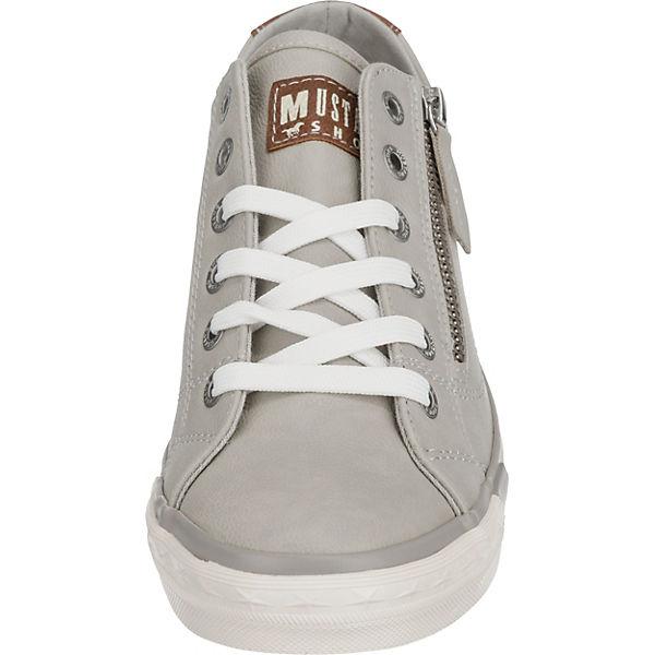 MUSTANG Sneakers MUSTANG hellgrau MUSTANG Sneakers Low hellgrau MUSTANG hellgrau Sneakers Low Low Sneakers dwB6B