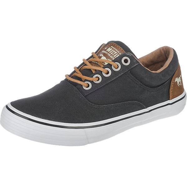MUSTANG Sneakers Low schwarz