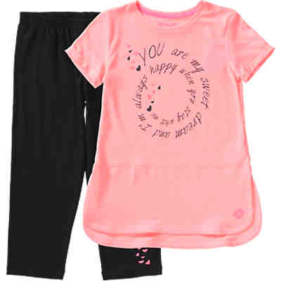 Kinder Set mit 3/4 Leggings und Shirt DOLLY IV KIT MID