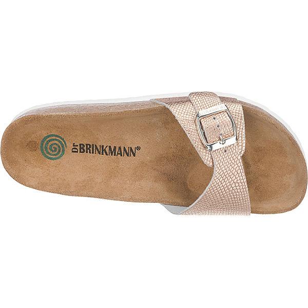 Dr. Brinkmann Dr. Brinkmann Pantoletten gold