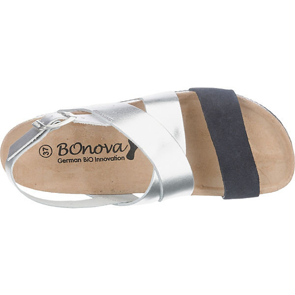 BOnova BOnova Gusterath Sandaletten grau-kombi