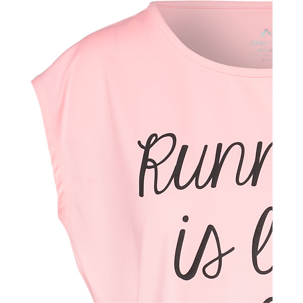 Only Play Shirt T Only rosa Play 54nqzTw
