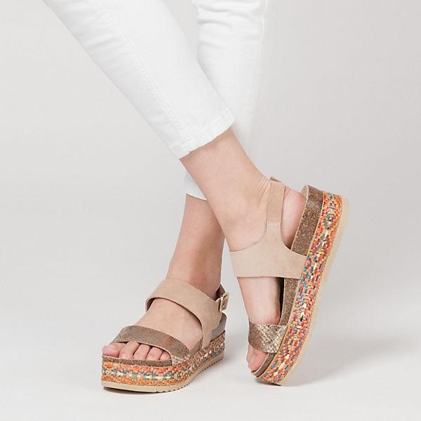 BULLBOXER BULLBOXER Sandaletten rosa