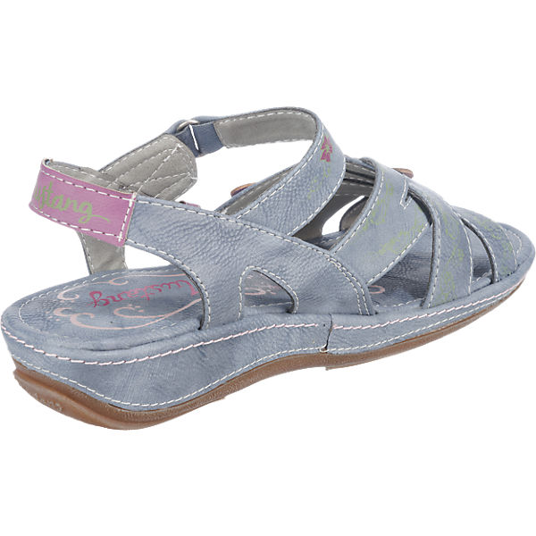 MUSTANG MUSTANG Sandaletten blau