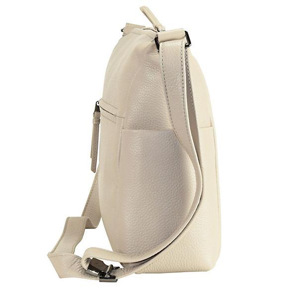 Bree Bree Nola 3 Umhängetasche Leder 35 cm beige