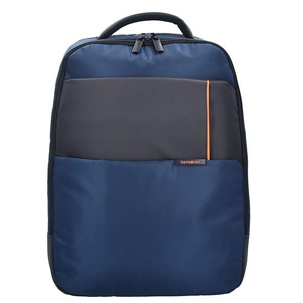 Samsonite Samsonite Qibyte Rucksack 46 cm Laptopfach blau
