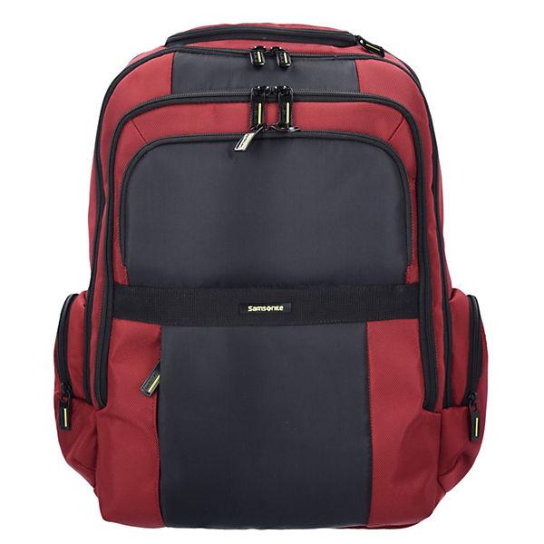 Samsonite Samsonite Infinipak Business Rucksack 47 cm Laptopfach rot