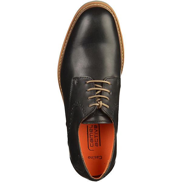 Camel active, camel active beliebte Business Schuhe, schwarz Gute Qualität beliebte active Schuhe 311f15
