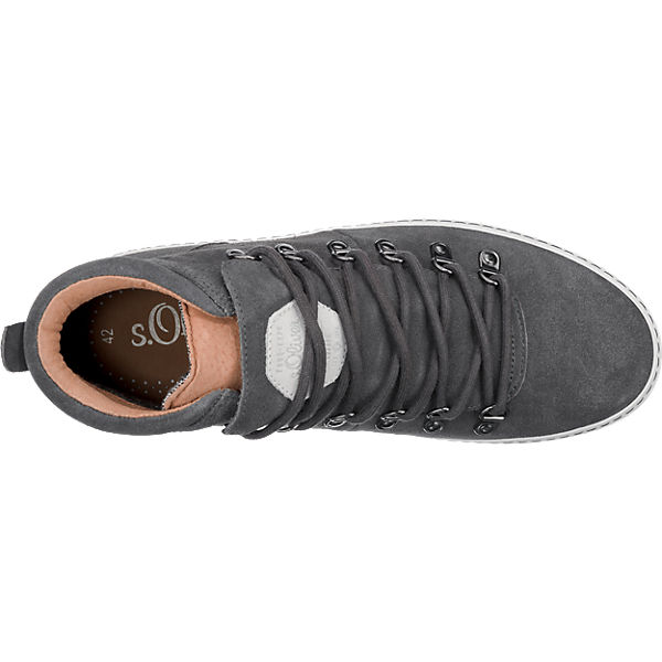 s.Oliver s.Oliver Sneakers dunkelgrau