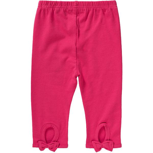 Tricky Tracks Baby Leggings für Mädchen pink