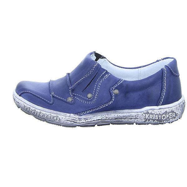 Kristofer, Kristofer Slipper, blau Schuhe  Gute Qualität beliebte Schuhe blau fb742d