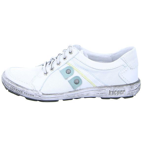 Kacper, Kacper Halbschuhe, weiß  Gute Qualität beliebte Schuhe