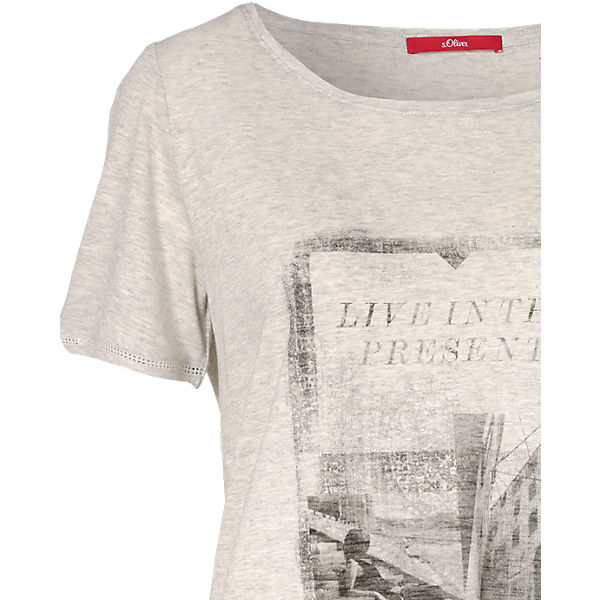 Oliver s creme s Oliver Shirt T T qaZCz