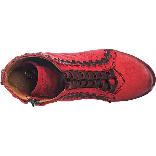 SIMEN SIMEN Schnürstiefeletten rot SIMEN Schnürstiefeletten rot Schnürstiefeletten SIMEN rot rot Schnürstiefeletten r51wqra