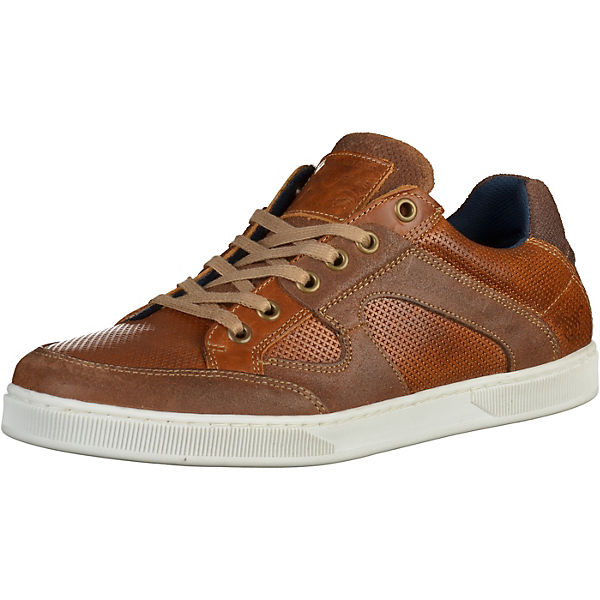 MUSTANG Sneakers braun Herren Gr. 42 Sale Angebote Drebkau