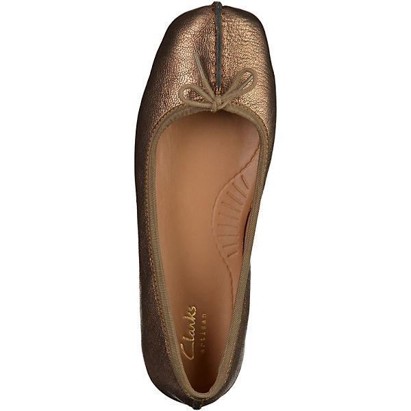Clarks Clarks Ballerinas bronze
