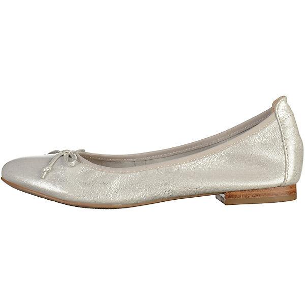 CAPRICE CAPRICE Ballerinas silber