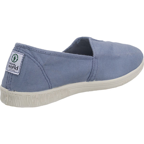 natural world Camping Tintado Slipper blau