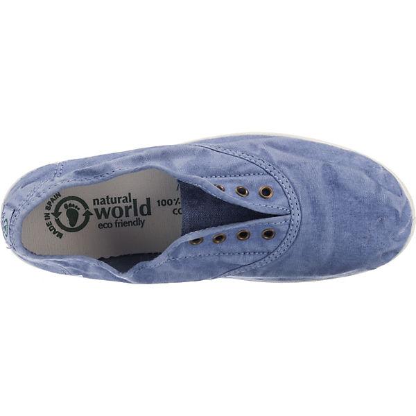 natural world Ingles Enzimatico Sneakers hellblau