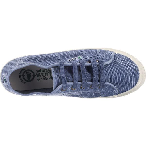 world Sneakers Basquet blau natural Enzimatico qdT5f