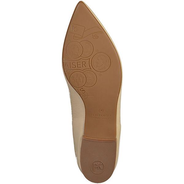 PETER KAISER PETER KAISER Qualität Ballerinas beige  Gute Qualität KAISER beliebte Schuhe 9e9dfc