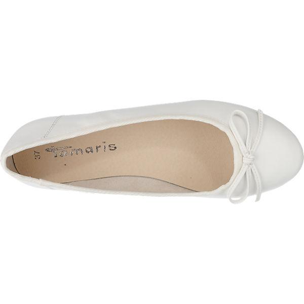 Tamaris Tamaris Crenna Ballerinas weiß