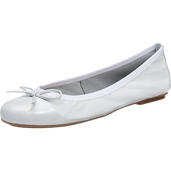 Tamaris Tamaris Vera Ballerinas weiß
