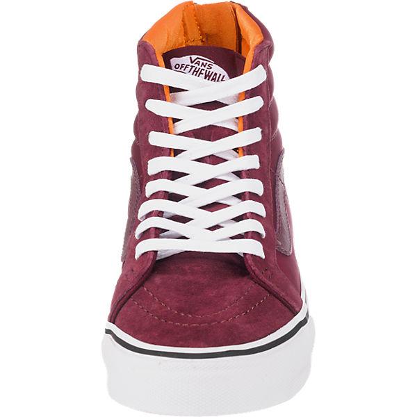VANS VANS Sk8-Hi Slim Zip Sneakers bordeaux