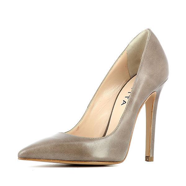 Graustein Angebote Evita Shoes Pumps grau Damen Gr. 41