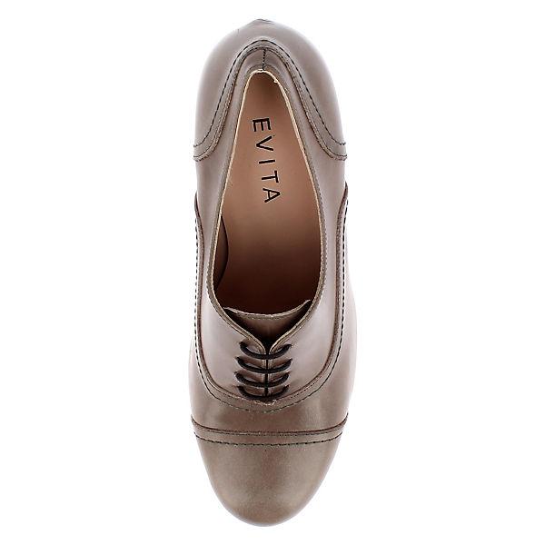 Pumps grau Shoes Evita Shoes Evita qOxwnFg