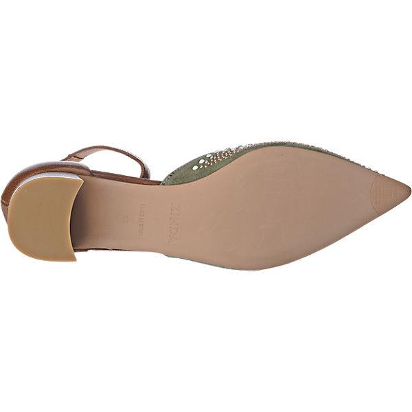 Zinda Zinda Sandaletten khaki