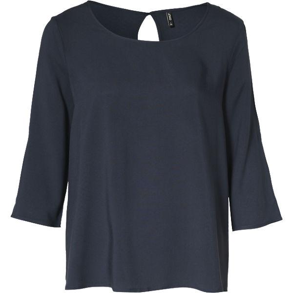 ONLY Blusenshirt Blusenshirt dunkelblau dunkelblau ONLY E48qWW6P