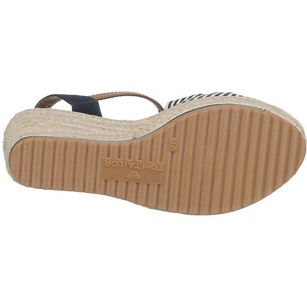 TOM TAILOR TOM TAILOR Sandaletten mehrfarbig