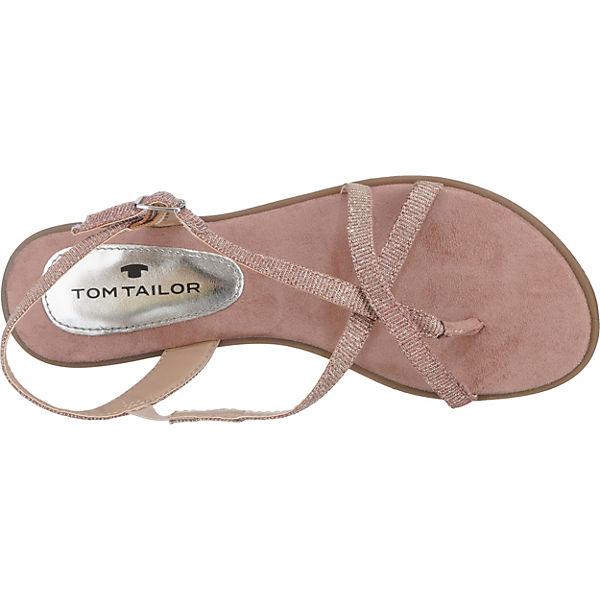 TOM TAILOR TOM TAILOR Sandaletten rosa