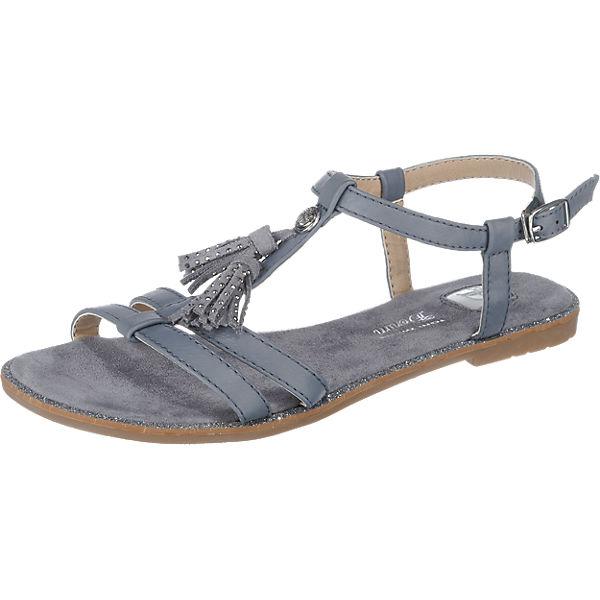 TOM TAILOR TOM TAILOR Sandaletten blau