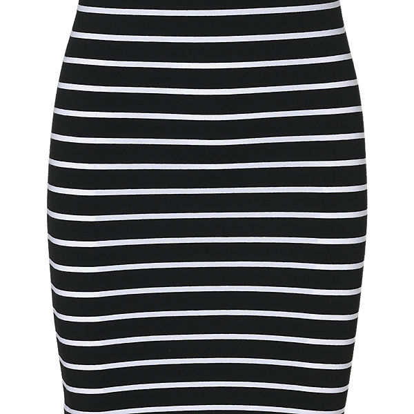 Kleid Kleid Kleid schwarz pieces pieces weiß pieces schwarz schwarz weiß weiß XSXR8xqwp